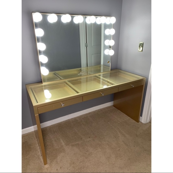 Impressions Vanity Other - Impressions Vanity Mirror & Table